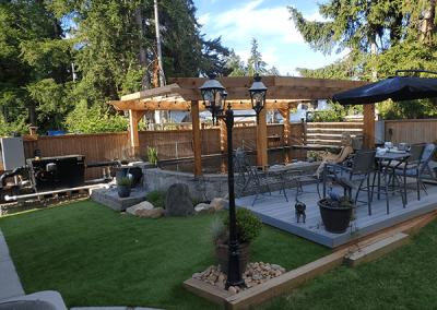 Residential Landscaping - Backyard